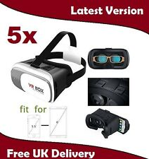 5X Universal 3D Virtual Reality VR BOX V2.0 Glasses Headset for video games, UK