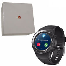 Huawei Watch 2 Sport 4gb Carbon Black Ip68 Plastic Strap Android Wear OS