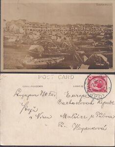1920 STRAITS SETTLEMENTS SINGAPORE real photo PPC superb