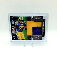 2019 Panini Playbook Darrell Henderson Mammoth Materials Rookie Patch 20/25 Rams