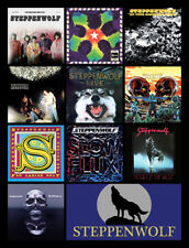 "STEPPENWOLF album cover discography magnet (3"" X 4.5"") skynyrd deep purple BOC"