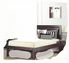 Finch KING SINGLE Size Chocolate Timber Bed - BRAND NEW