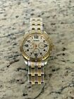 Fossil Women's Riley Gold & Silver Tone Band 3 Dials UNIQUE COLOR Watch ??kh2
