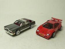 LAMBORGHINI MATCHBOX MB-154 & LINCOLN TOWNCAR MATCHBOX MB-197 FROM COLLECTION