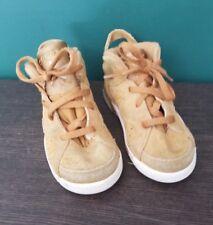 Jordan 6 Retro Wheat Toddlers 384667-705 Golden Harvest Sail Shoes Baby Size 10
