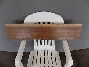 "33""x6"" Black Walnut Live Edge Bench Table Slab Lumber Board Solid Wood"