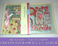 "Tatty Teddy 5x7"" MYO ALBUM CRAFT SET Best Friends AMAZING DAYS Memory Photo Book"