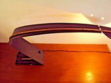 Lampe de bureau métal et cuivre design du 20 ème