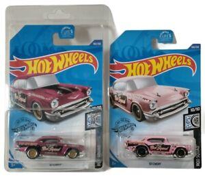 Hot Wheels Super Treasure Hunt 57 Chevy 2020 25TH Anniversary