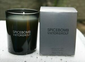 BRAND NEW BOXED 100% GENUINE VIKTOR AND ROLF SPICEBOMB CANDLE IDEAL GIFT 75G