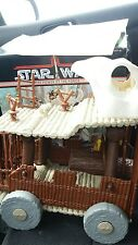 Vintage Star Wars Power Of The Force Ewok Battle Wagon Complete With Box
