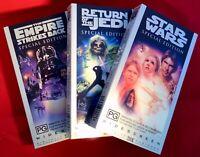 Star Wars VHS Trilogy Box Set Original Empire Strikes Back Return Of The Jedi