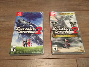 Xenoblade Chronicles 2 + TORNA The Golden Country Nintendo Switch New Sealed