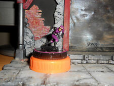 CUSTOM Heroclix THE PHANTOM Figure Miniature THE GHOST WHO WALKS Purple Avenger