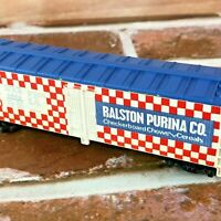 HO Tyco M.R.S. 4554-RALSTON PURINA CO Checkerboard Chows Cereals Parts/Repair