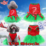 Halloween Costume For Dogs Pet Puppy Clothes Christmas Dress Party Transform NEW