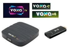 VOXA TV iStar voxa+6 voxa+7 12 Monate Code Subscription Renewal Voxa +6 voxa +7