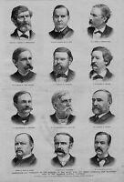 WASHINGTON D. C. PORTRAITS OF MEMBERS OF THE HOUSE WAYS AND MEANS COMMITTEE