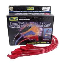 Taylor Spark Plug Wire Set 79285; 409 Pro Race 10.4mm Red 135° for Mazda 2 Rotor