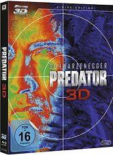 PREDATOR (Arnold Schwarzenegger) Blu-ray 3D + Blu-ray Disc NEU+OVP