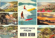 BR91524 greetings from north devon surf  uk