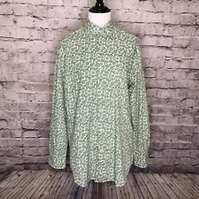 Men's Boden Floral Printed Long Sleeve Casual Button Down Shirt Size Small