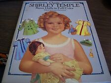Calssic Shirley Temple Paper Dolls In Full Color - Edited By Grayce Piemontesti
