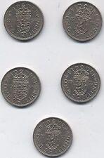 More details for the key date elizabeth ii shillings | bulk coins | pennies2pounds