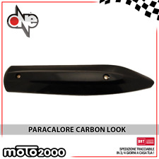 PARACALORE PROTEZIONE MARMITTA CARBON LOOK PER YAMAHA MAJESTY 400 2004 2005 2006