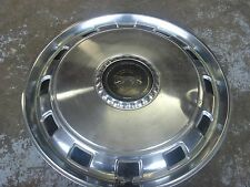 "Vintage hubcap wheel cover: 1977-1978-1979 ??? MERCURY Cougar 15"""