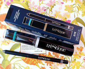 TreStique DUO Good Vibes Mascara/eyelash curler + Eye Pencil - Set of 2  New
