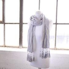 Sciarpe, foulard e scialli da donna stola in argento con fantasia tinta unita