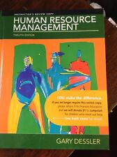 Human Resource Management- 12Th Edition: Instructor's Review Copy