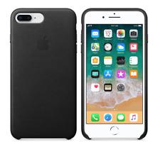 BLACK ORIGINAL GENUINE OFFICIAL Apple iPhone 8 Plus / 7 Plus Leather Case RRP$49