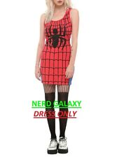 Marvel Comics LICENSED Spider-Man Juniors Small Costume Style Tank Dress Cosplay