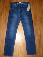 Neue 883 Police Cassad 18B Regular Denim Herren Jeans Gr W32/L32 Mittel Blau