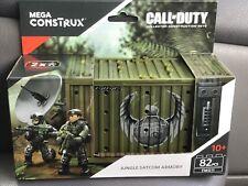 MEGA CONSTRUX CALL OF DUTY  Mega Construx Jungle Satcom Armory Set New 82 pcs