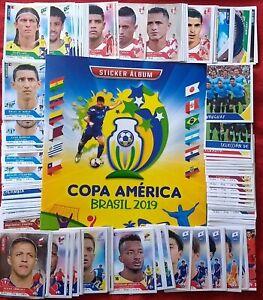 Navarrete Copa America Brazil 2019 Stickers Empty Album Complete Set