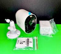 One Arlo Pro 3 2K QHD Wireless Security Camera w battery Mount & Screws (NEW)