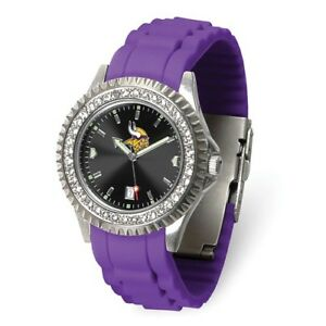 NFL Minnesota Vikings Ladies Sparkle Watch Style: XWL1245 $53.90