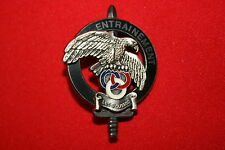 FRENCH COMMANDO TRAINING CENTRE INSTRUCTOR SCHOOL BADGE LES ROUSSES