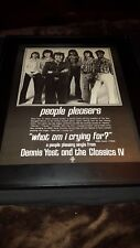 Dennis Yost Classics IV What Am I Crying For?Rare Promo Poster Ad Framed!