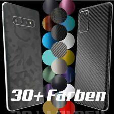 Samsung Galaxy S10 S20 Plus Ultra + A50 Note Skin Wrap 3M Aufkleber Schutzfolie