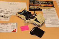 C44 Danbury Mint 1959 Ford Thunderbird 1:24 Casino Cream, Title, No Box