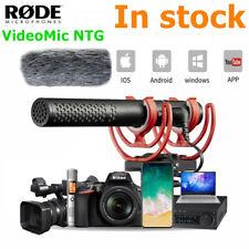 Rode VideoMic NTG Interview Record Shotgun Microphone for Camera DSLR Smartphone