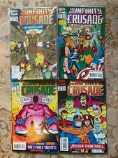 The infinity~Crusade collectable marvel comics lot 1 to 4