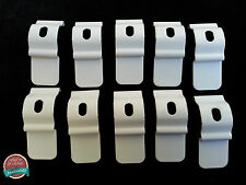 Vertical Blind Top Fix Brackets White Pack of 10   Blind Spares and Parts