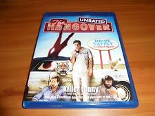 The Hangover (Blu-ray Disc, 2009, Rated/Unrated) Bradley Cooper Used