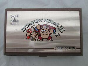 Vintage Donkey Kong II 2 Game & Watch Nintendo JR-55 - Parts or Repair