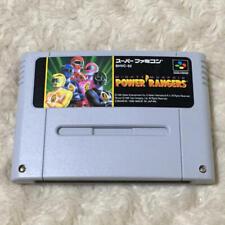 SFC SNES BANDAI Mighty Morphin Power Ranger SHVC-52 Super Famicom Nintendo